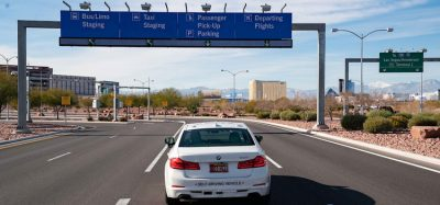 Self-driving vehicles introduced at McCarran International Airport